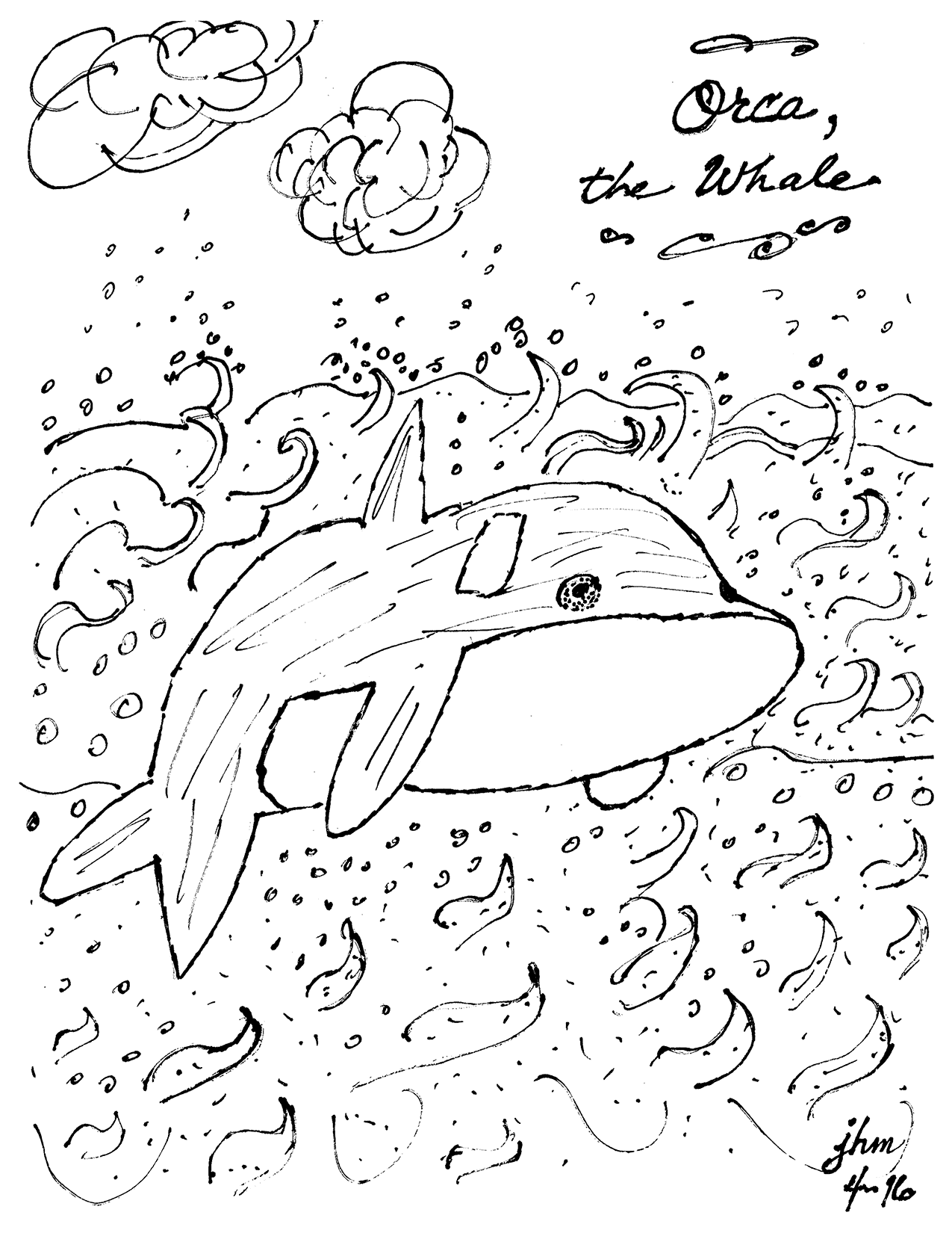 Orca the Whale