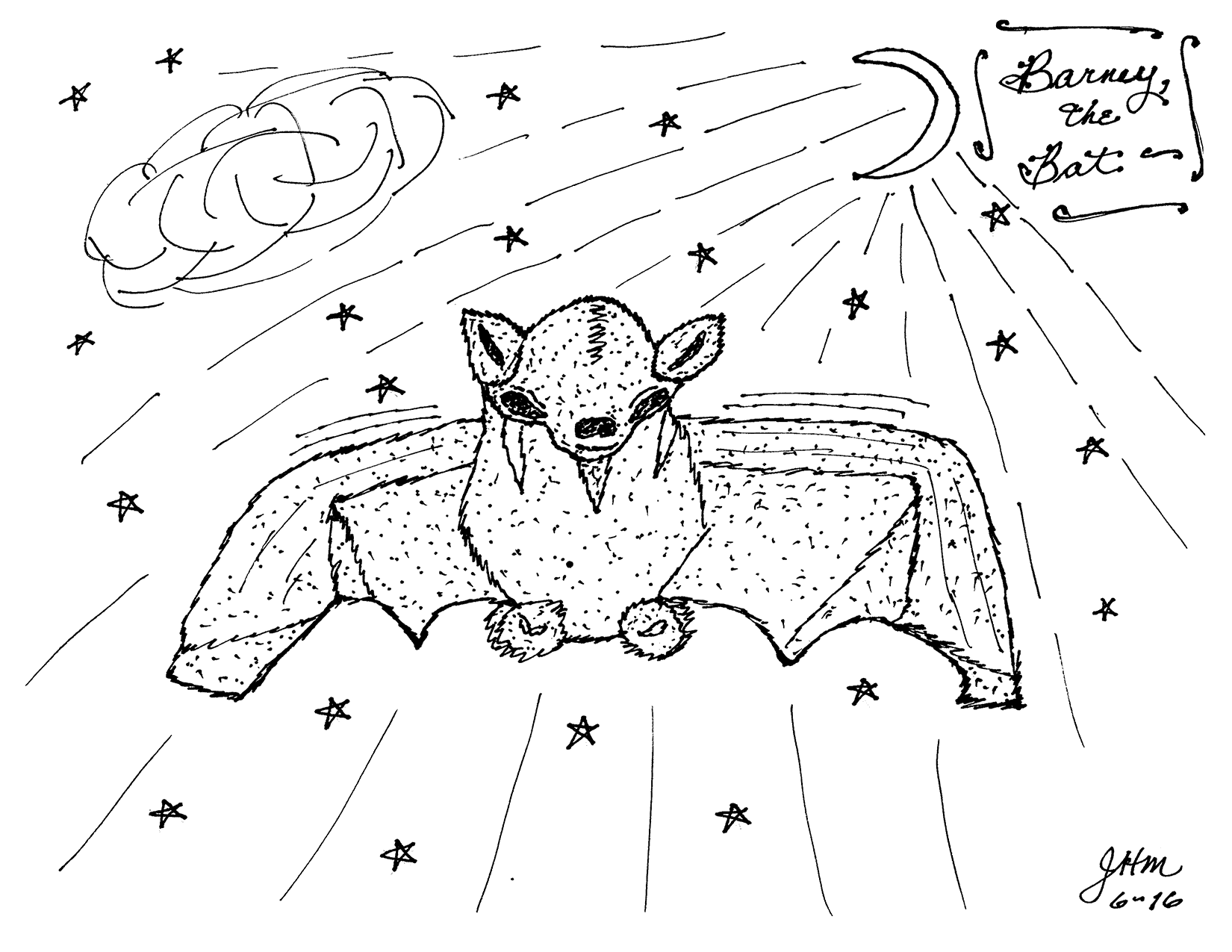 Barney the Bat