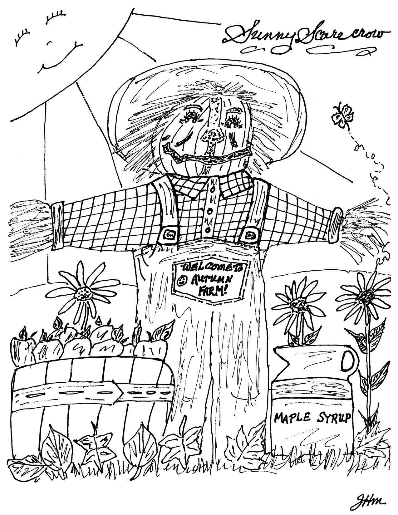 Sunny Scarecrow