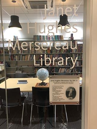 Janet Hughes Mersereau Library